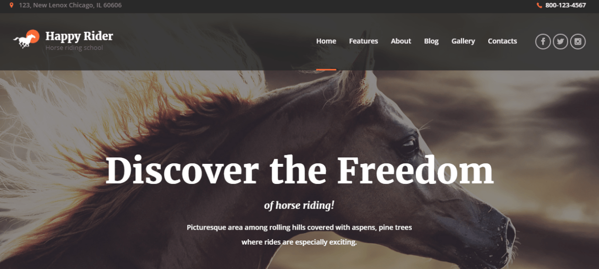 4 Best Horse Riding Club, Racing & Equestrian WordPress Themes